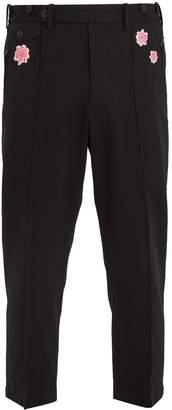 Y-3 X James Harden floral-print cotton-blend trousers