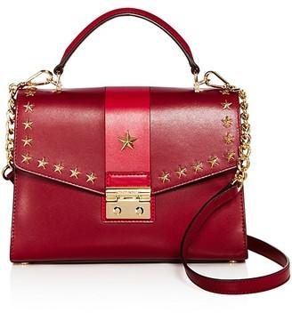 MICHAEL Michael Kors Sloan Studded Top Handle Medium Leather Satchel - 100% Exclusive