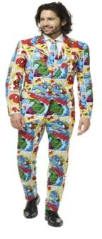 Opposuits OppoSuits Men's Marvel Comics Licensed Suit