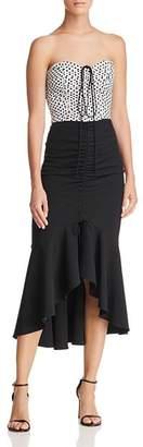 Milly Tara Convertible Midi Dress