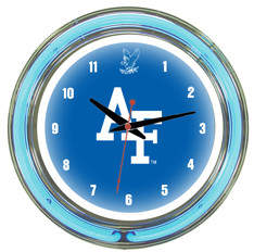 "Wave 7 NCAA 14"" Team Neon Wall Clock NCAA Team: U.S. Air Force Academy"