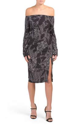 Juniors Australian Brand Long Sleeve Dress