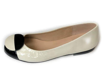 French Sole Dawn Patent-Leather Flats
