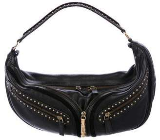 642d67f11f4f Pre-Owned at TheRealReal · Versace Studded Leather Hobo
