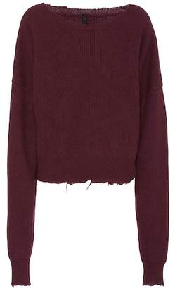 Unravel Oversized wool and cashmere sweater