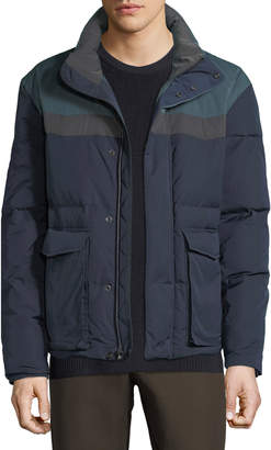Vince Men's Colorblock Puffer Coat