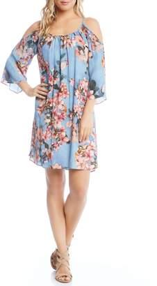 Karen Kane Floral Fresco Dress