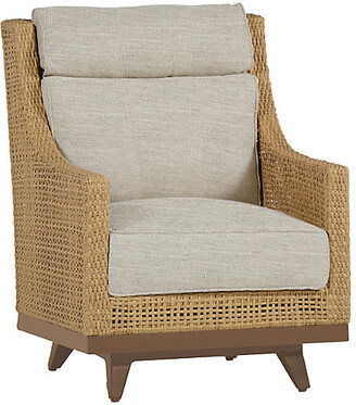 Peninsula Spring Club Chair - Dove Sunbrella - SUMMER CLASSICS INC