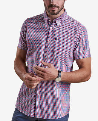 Barbour Men's Newton Seersucker Check Pocket Shirt