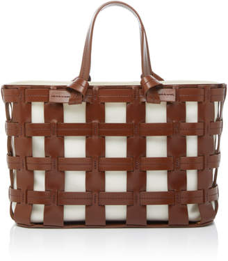 Trademark Frances Cutout Leather Tote