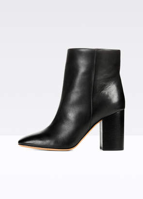 Vince Felton Leather Ankle Boots
