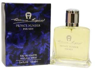 Etienne Aigner Private Number By For Men. Eau De Toilette Spray 3.4 Oz