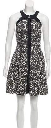 Robert Rodriguez Printed Mini Dress