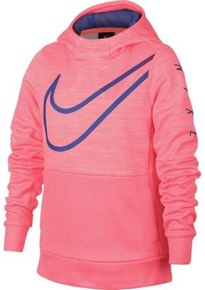 Nike Therma Graphic Pullover Hoodie - Girls'
