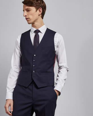 MOTHW Debonair skinny stripe wool waistcoat