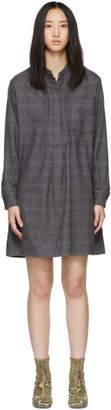 Etoile Isabel Marant Grey Flannel Dancy Dress