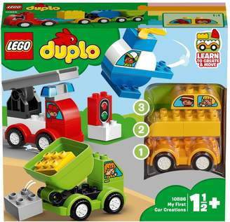Next Boys LEGO DUPLO Car Creations Toy Cars For Toddlers 10886