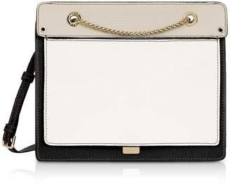 7c91531d1f at Italist · Furla Like Small Color Block Leather Crossbody Bag W chain  Strap