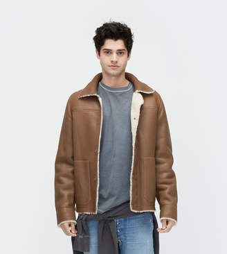Shearling Worker Jacket
