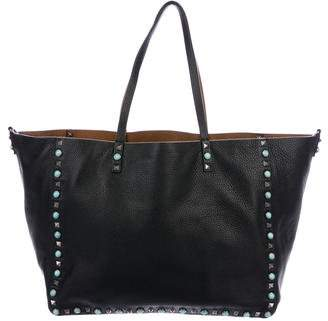 Valentino 2016 Rolling Rockstud Reversible Tote