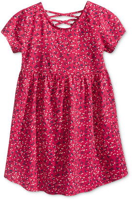 Epic Threads Petal Print Dress, Toddler & Little Girls (2T-6X), Only at Macy's $26 thestylecure.com