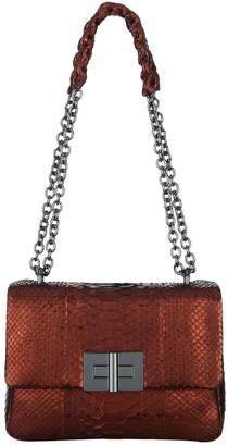 Tom Ford Medium Metallic Python Natalia Shoulder Bag