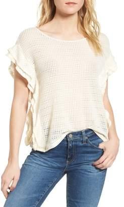 Ella Moss Crochet Pullover Top
