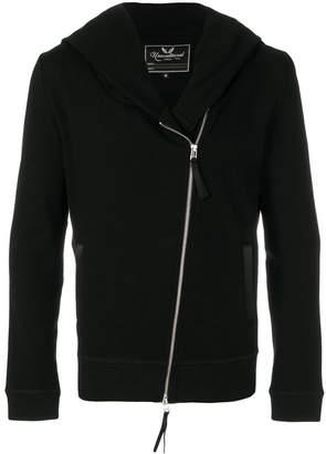 Unconditional biker zip hoodie