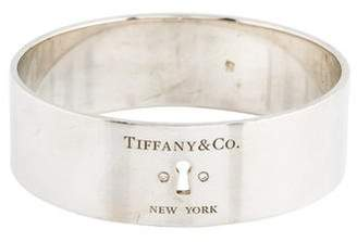 Tiffany & Co. Diamond Lock Bangle