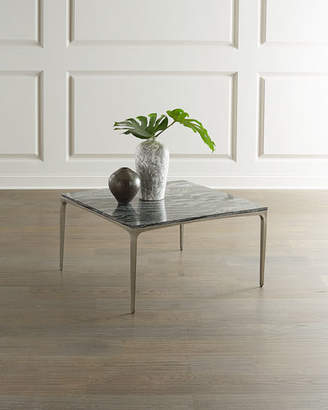 Bernhardt Strata Marble Square Coffee Table