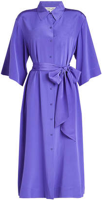Diane von Furstenberg Silk Shirt Dress