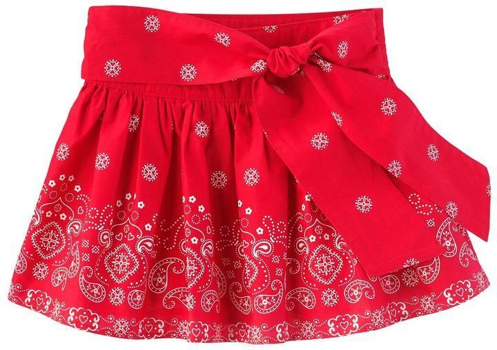 Osh Kosh paisley skirt - girls 4-6x