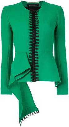 Roland Mouret embroidered detail blazer