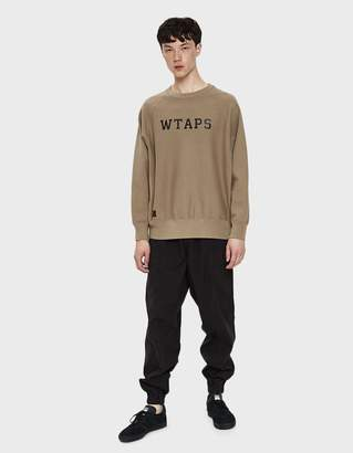 Wtaps Weather Trousers in Black