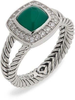 06dfa7d3fccb9 David Yurman Petite Albion Ring with Semiprecious Stone & Diamonds