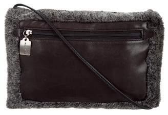 Robert Clergerie Fur Muff Bag