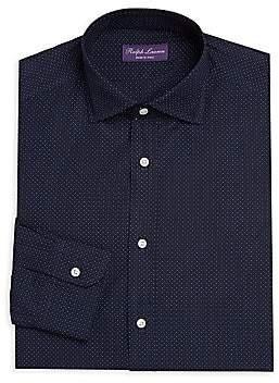 Ralph Lauren Purple Label Men's Woven Cotton Dress Shirt