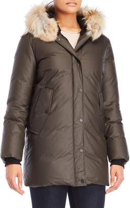 N. Sandova Real Fur Hood Parka