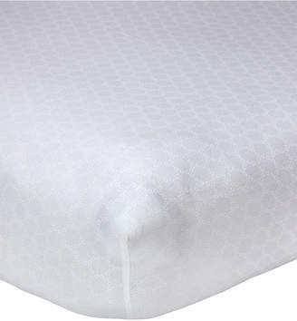 Carter's Lily 100% Cotton Geo-Print Fitted Crib Sheet Bedding