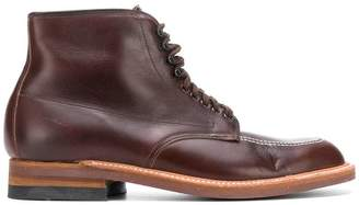 Alden lace-up ankle boots
