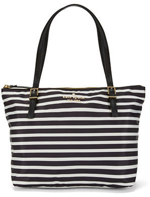 Kate Spade Kate Spade New York Small Striped Maya Tote