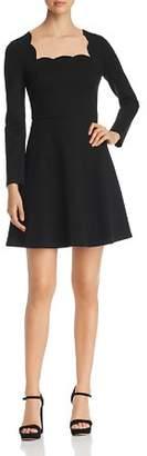 Kate Spade Scalloped Ponte Dress