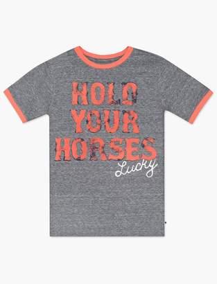 Little Boys 5-7 Hold Your Horses Tee