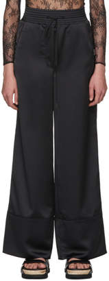 Off-White Black Cargo Pajama Pants