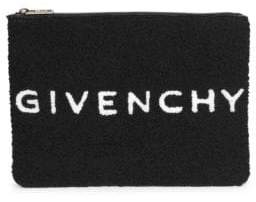 Givenchy Plush Logo Pouch