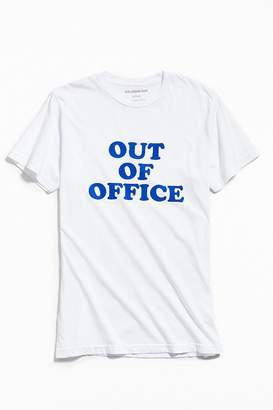 Urban Outfitters Out Of Office Crew-Neck Tee