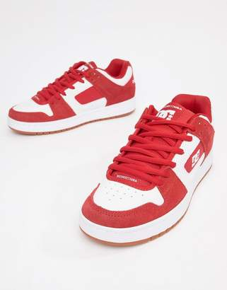 DC Manteca Sneaker in Red