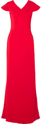 Antonio Berardi Stretch-cady Gown - Red