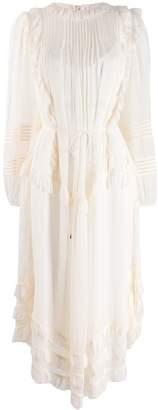Zimmermann pleated ruffle dress