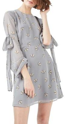 Women's Topshop Moth Print Skater Dress $90 thestylecure.com